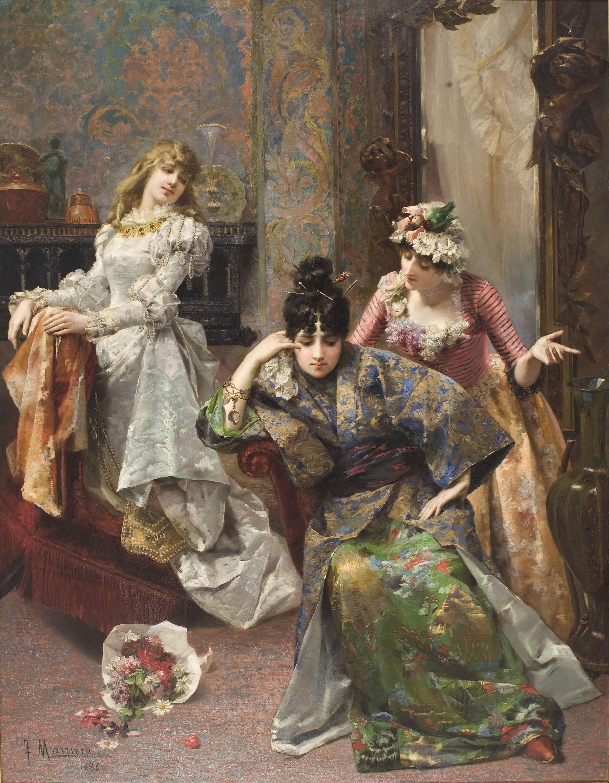 Francesc Masriera - After the Ball - 1886