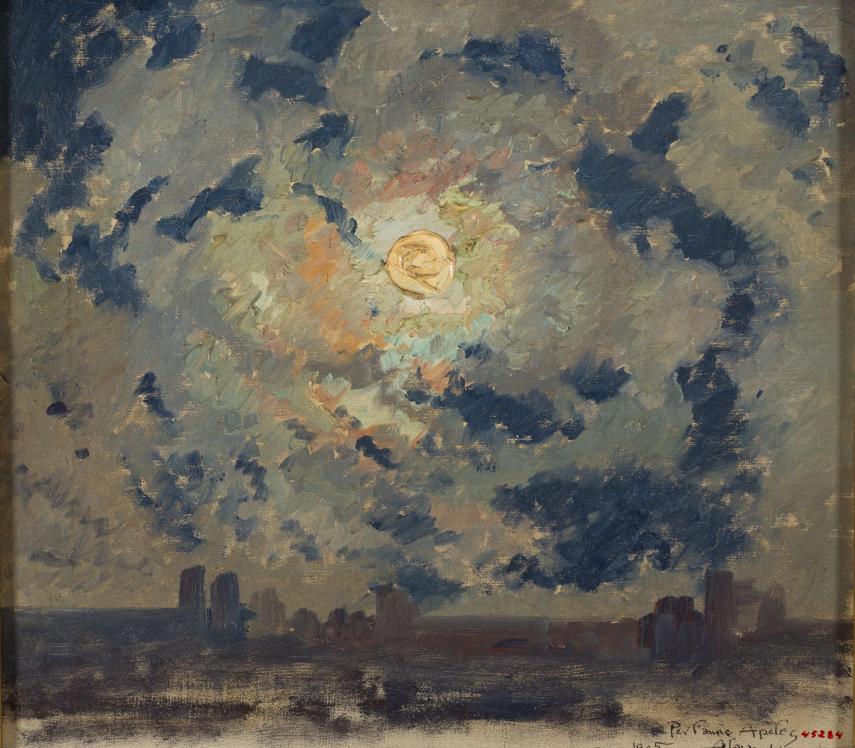 Alexandre de Riquer - Paisatge a la matinada - 1905