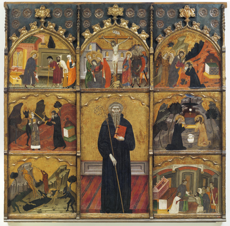 Retaule de sant Antoni Abad