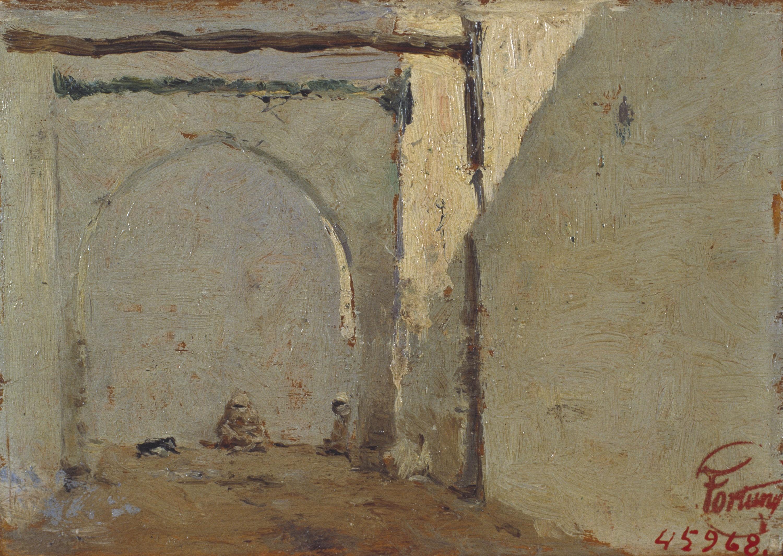 Marià Fortuny - Carrer marroquí - Cap a 1860-1862
