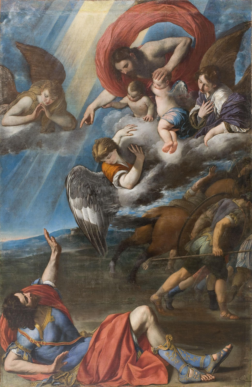 Juan Bautista Maíno - La conversió de sant Pau - Cap a 1614