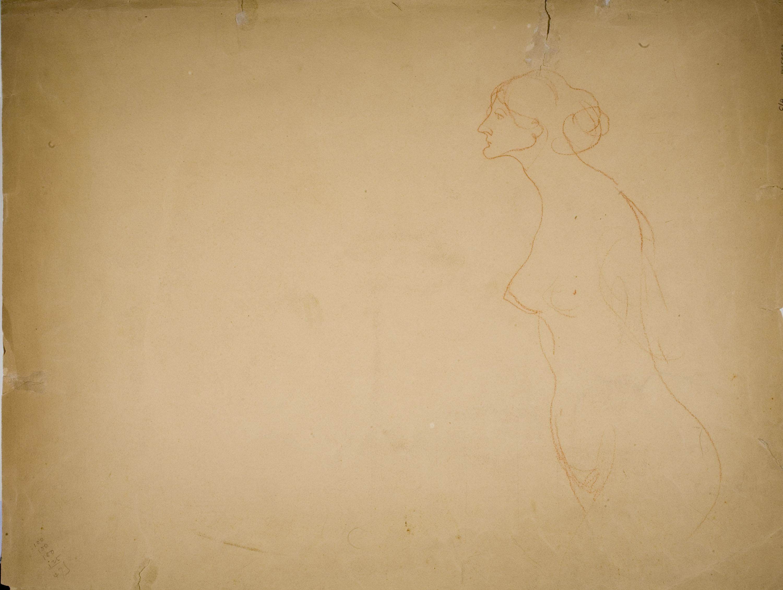 Isidre Nonell - Female nude - Circa 1906-1911