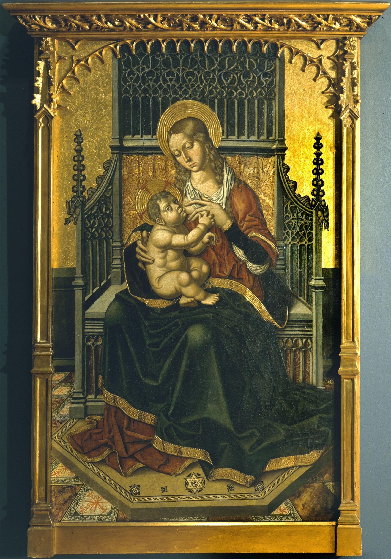Mestre de Castelsardo - Virgen de la Leche - 1490-1510