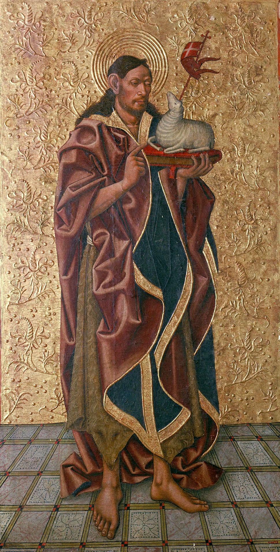 Juan de la Abadía (el Vell) - Sant Joan Baptista - Últim quart del segle XV