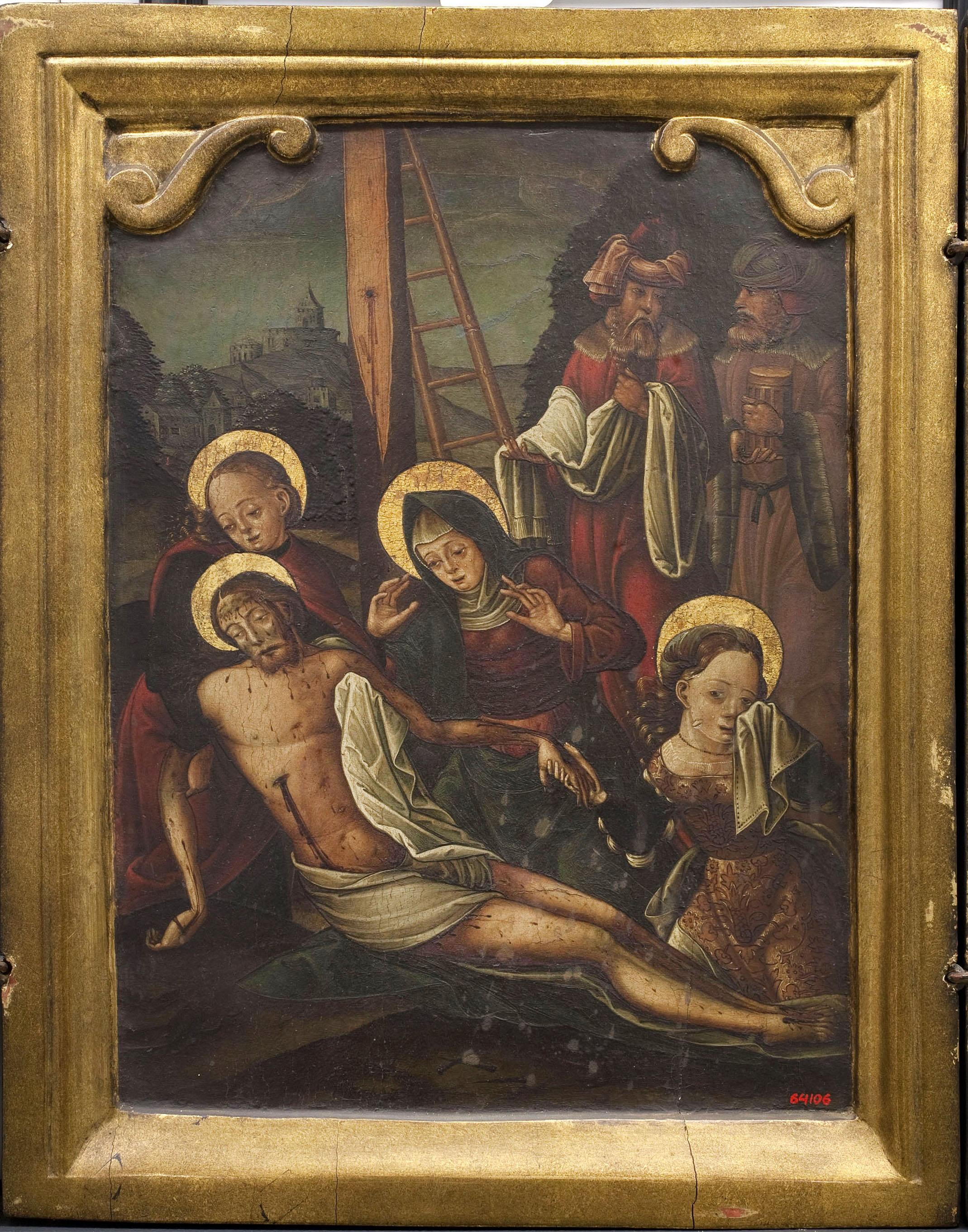Anònim. Aragó - Plany sobre Crist mort - Entre 1510-1550