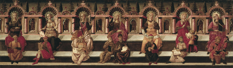 Giovanni di Ser Giovanni (Lo Scheggia) - Les set Arts Liberals - Cap a 1460