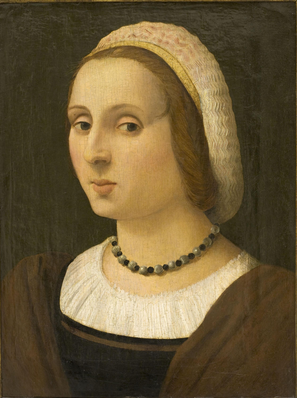 Vincenzo Tamagni - Retrat de dama - Cap a 1523