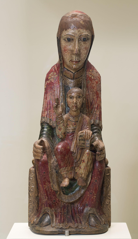 Anònim - Mare de Déu de Ger - Segona meitat del segle XII