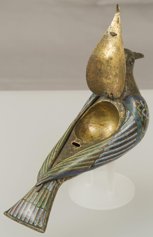 Anònim - Eucharistic Dove - Limoges, first half of 13th century [1]