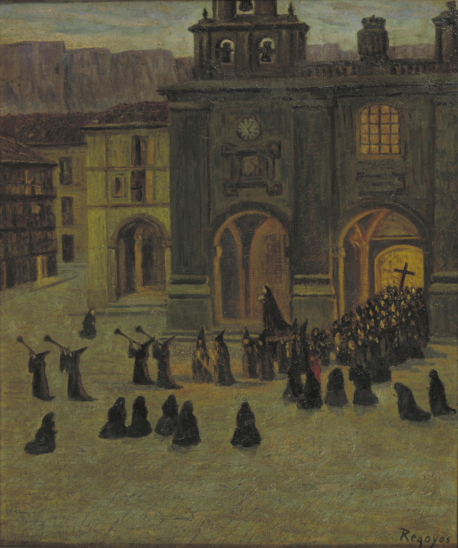 Darío de Regoyos - Matinada del Divendres Sant a Orduña - 1903
