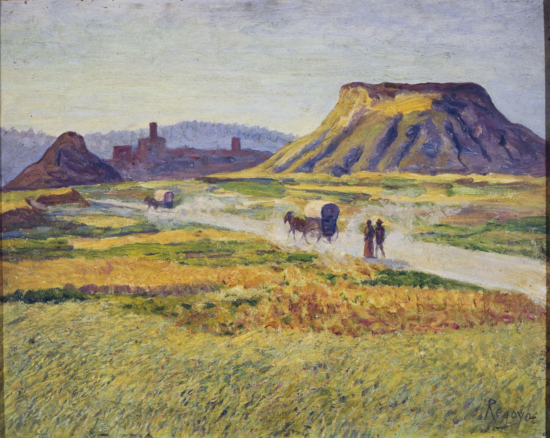 Darío de Regoyos - The Road to Tona - 1912