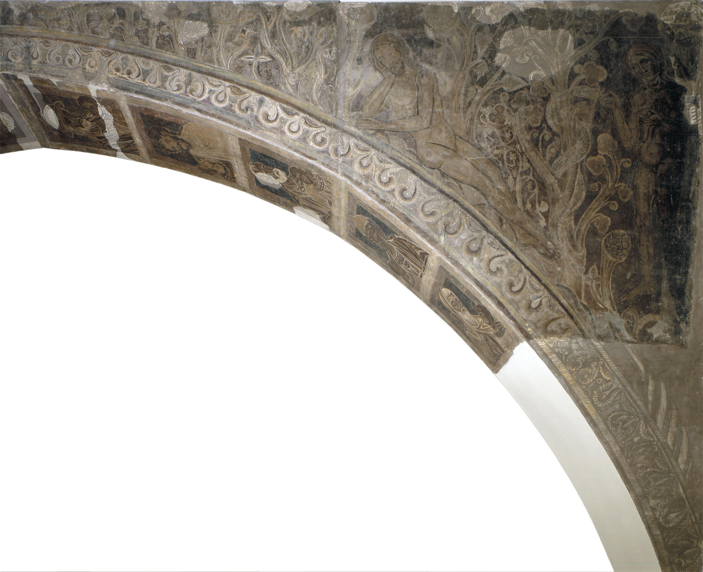 Mestre de la sala capitular de Sixena - Pecat Original, de la sala capitular de Sixena - Entre 1196-1200