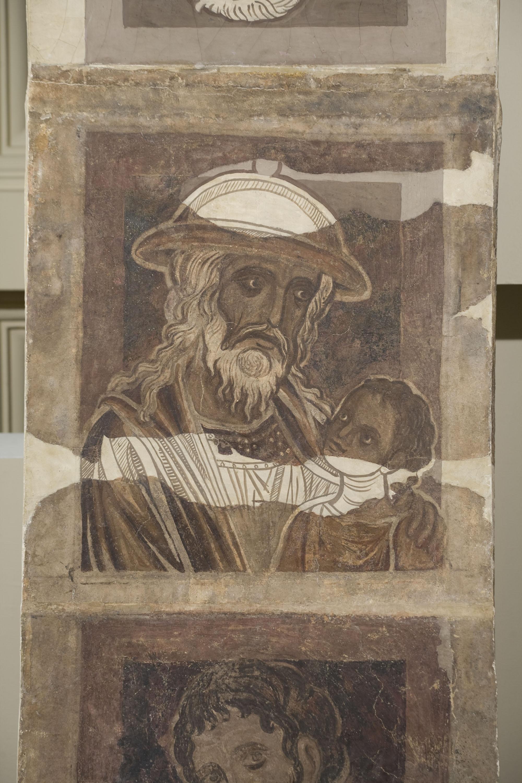 Mestre de la sala capitular de Sixena - De Fares a Naason de la genealogia de Crist segons Mateu, de la sala capitular de Sixena - Entre 1196-1200 [1]