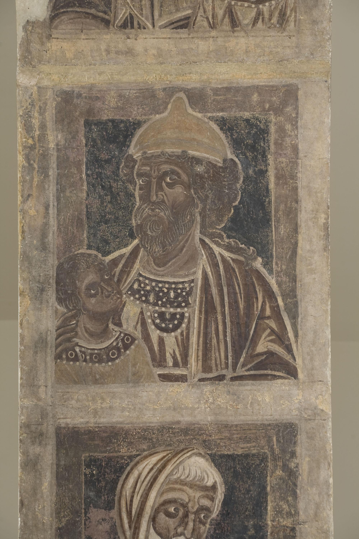 Mestre de la sala capitular de Sixena - De Fares a Naason de la genealogia de Crist segons Mateu, de la sala capitular de Sixena - Entre 1196-1200 [4]