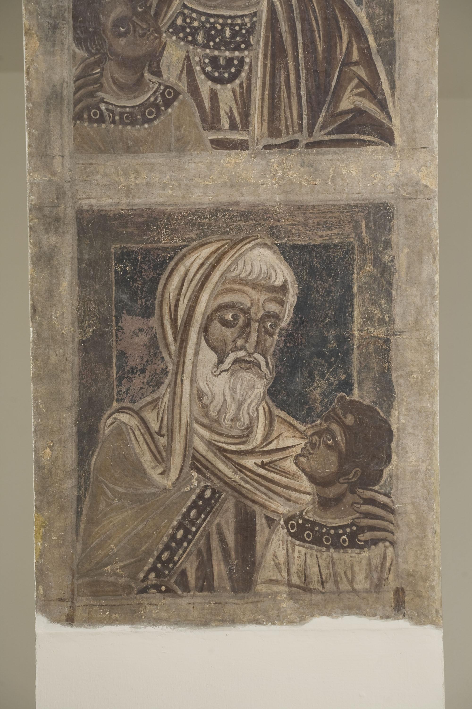 Mestre de la sala capitular de Sixena - De Fares a Naason de la genealogia de Crist segons Mateu, de la sala capitular de Sixena - Entre 1196-1200 [5]