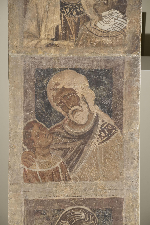 Mestre de la sala capitular de Sixena - De Salmon a Roboam de la genealogia de Crist segons Mateu, de la sala capitular de Sixena - Entre 1196-1200 [3]