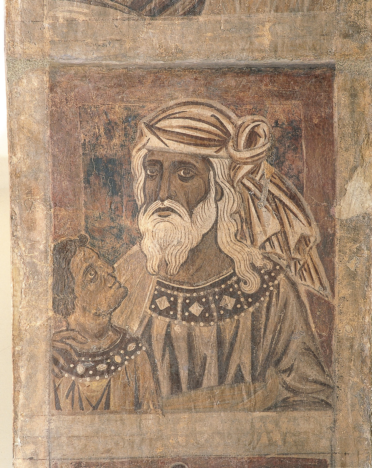 Mestre de la sala capitular de Sixena - De Salmon a Roboam de la genealogia de Crist segons Mateu, de la sala capitular de Sixena - Entre 1196-1200 [5]