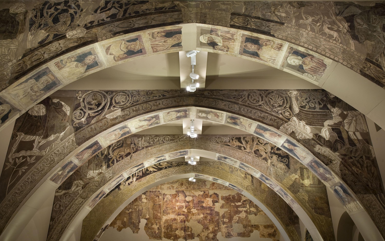 Mestre de la sala capitular de Sixena - Pintures de la sala capitular de Sixena - Entre 1196-1208