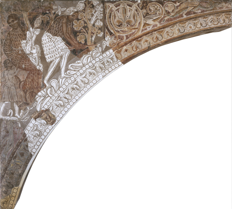 Mestre de la sala capitular de Sixena - Treball d'Adam i Eva, de la sala capitular de Sixena - Entre 1196-1208