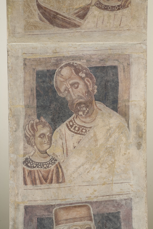 Mestre de la sala capitular de Sixena - D'Amon a Zorobabel de la genealogia de Crist segons Mateu, de la sala capitular de Sixena - Entre 1196-1208 [3]