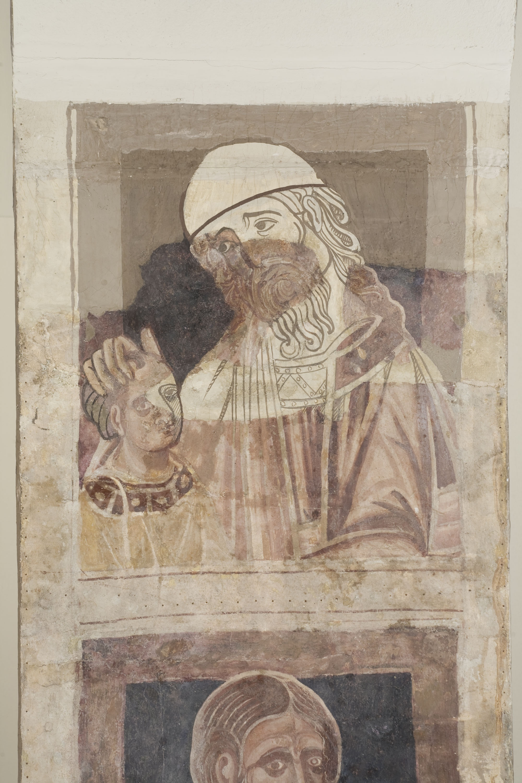 Mestre de la sala capitular de Sixena - D'Abihud a Eleazar de la genealogia de Crist segons Mateu, de la sala capitular de Sixena - Entre 1196-1208 [1]