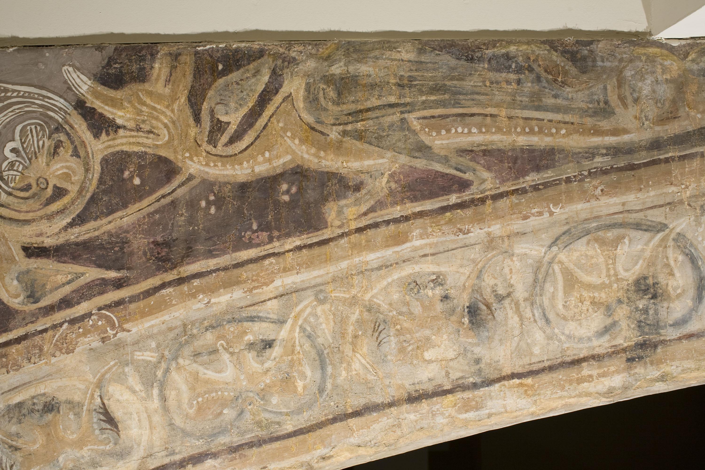 Mestre de la sala capitular de Sixena - Noè fa entrar els animals a l'arca, de la sala capitular de Sixena - Entre 1196-1208 [4]