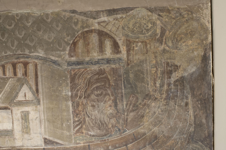 Mestre de la sala capitular de Sixena - Retorn del colom després del Diluvi, de la sala capitular de Sixena - Entre 1196-1208 [1]