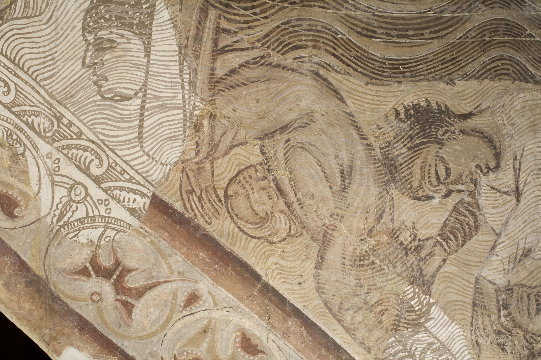 Mestre de la sala capitular de Sixena - Retorn del colom després del Diluvi, de la sala capitular de Sixena - Entre 1196-1208 [3]