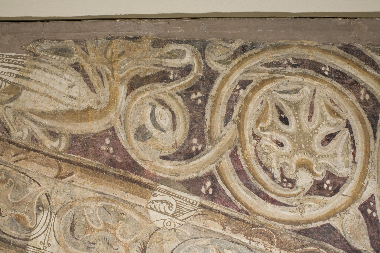 Mestre de la sala capitular de Sixena - Retorn del colom després del Diluvi, de la sala capitular de Sixena - Entre 1196-1208 [4]