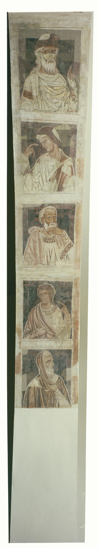 Mestre de la sala capitular de Sixena - De Jannai a Naüm de la genealogia de Crist segons Lluc, de la sala capitular de Sixena - Entre 1196-1208