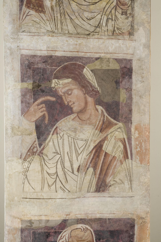 Mestre de la sala capitular de Sixena - De Jannai a Naüm de la genealogia de Crist segons Lluc, de la sala capitular de Sixena - Entre 1196-1208 [2]