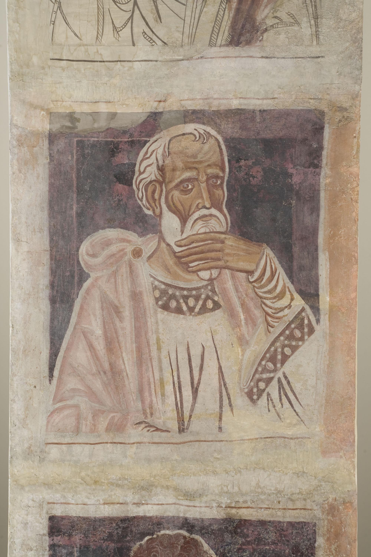 Mestre de la sala capitular de Sixena - De Jannai a Naüm de la genealogia de Crist segons Lluc, de la sala capitular de Sixena - Entre 1196-1208 [3]