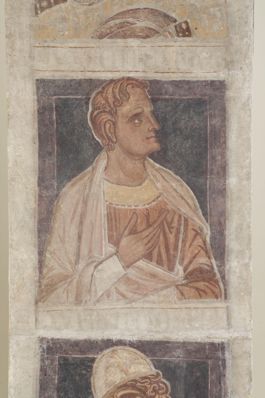 Mestre de la sala capitular de Sixena - De Nangai a Resà de la genealogia de Crist segons Lluc, de la sala capitular de Sixena - Entre 1196-1208 [3]