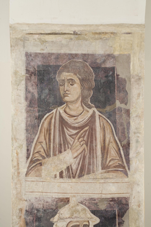 Mestre de la sala capitular de Sixena - D'Er a Simeó de la genealogia de Crist segons Lluc, de la sala capitular de Sixena - Entre 1196-1208 [1]
