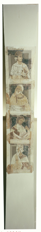 Mestre de la sala capitular de Sixena - D'Eliaquim a Jessè de la genealogia de Crist segons Lluc, de la sala capitular de Sixena - Entre 1196-1208