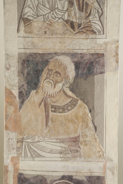 Mestre de la sala capitular de Sixena - D'Eliaquim a Jessè de la genealogia de Crist segons Lluc, de la sala capitular de Sixena - Entre 1196-1208 [2]