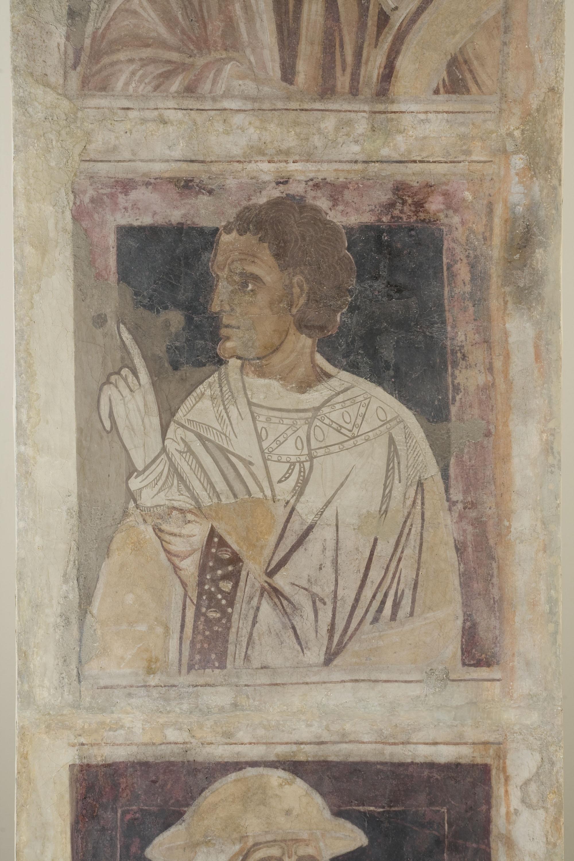Mestre de la sala capitular de Sixena - D'Abraham a Noè de la genealogia de Crist segons Lluc, de la sala capitular de Sixena - Entre 1196-1208 [2]