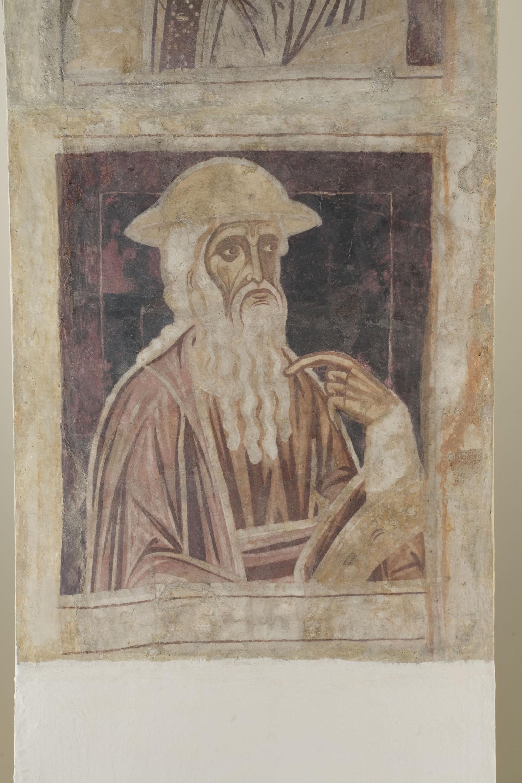 Mestre de la sala capitular de Sixena - D'Abraham a Noè de la genealogia de Crist segons Lluc, de la sala capitular de Sixena - Entre 1196-1208 [3]