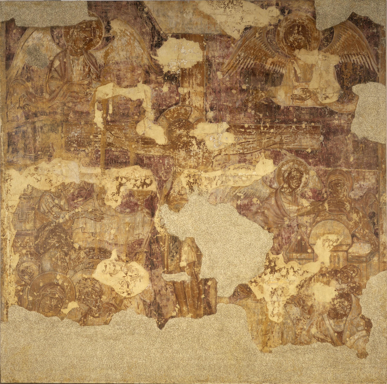Mestre de la sala capitular de Sixena - Crucifixió, de la sala capitular de Sixena - Entre 1196-1208