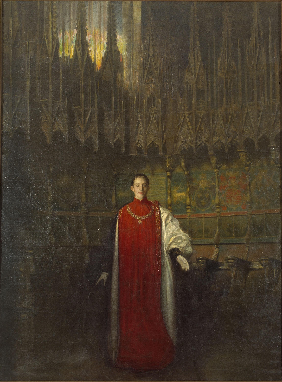Ramon Casas - Retrat del rei Alfons XIII - Cap a 1908