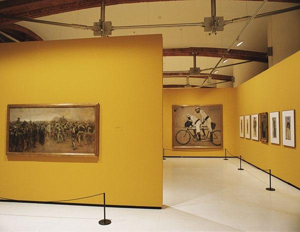 Ramon Casas - Ramon Casas i Pere Romeu en un tàndem - Barcelona, 1897 [6]