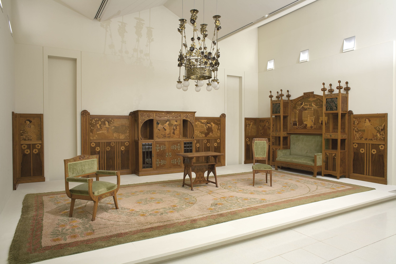 Museu Nacional d'Art de Catalunya | Saló del pis principal de la casa Lleó Morera