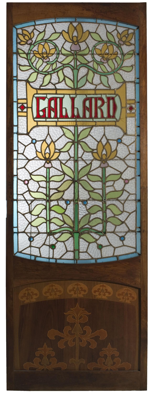 Joaquim Renart - Glass-door from Tintoreria Gallard - 1905