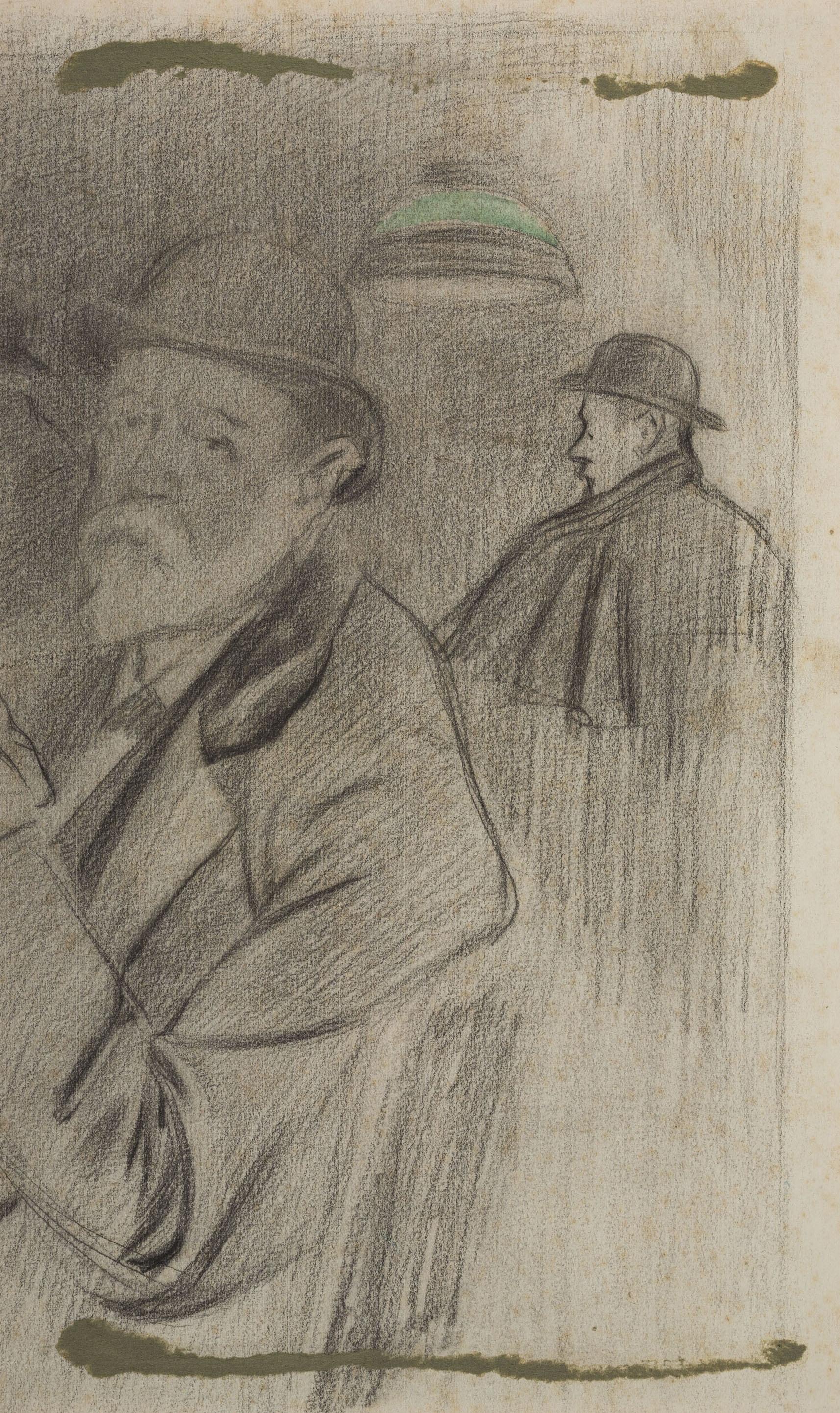 Joan Cardona - Two men - Circa 1902