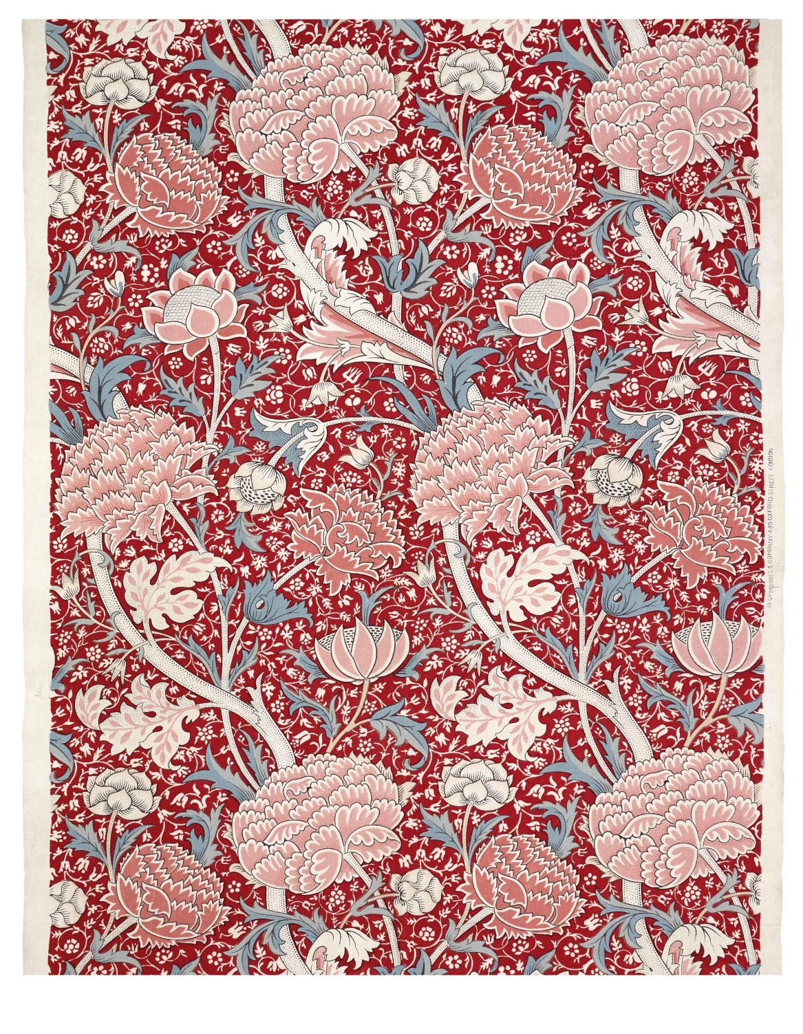 William Morris per a Morris & Co. Draperia «Cray». 1884 © The Whitworth, The University of Manchester