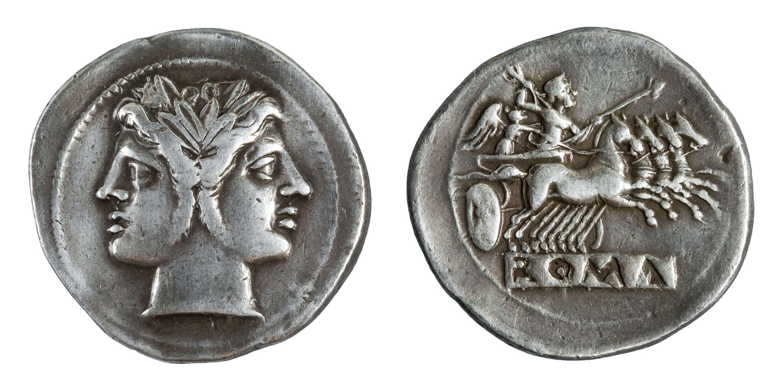 República romana - Didracma - 225-212 aC