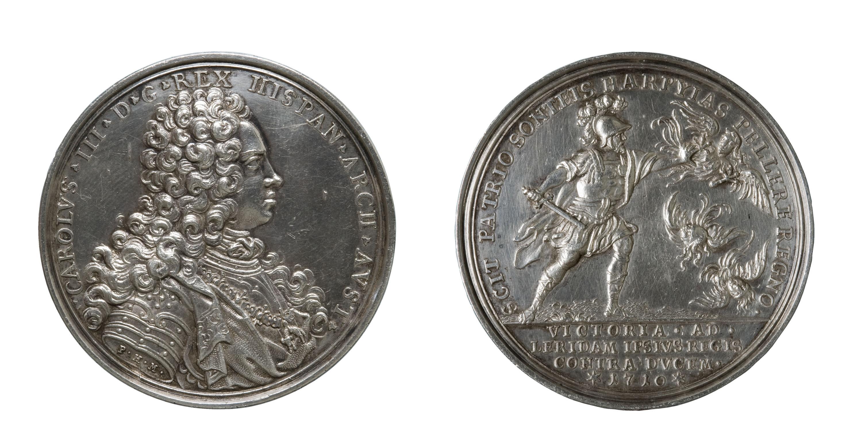 Philipp Heinrich Müller - Medalla commemorativa de la victòria de Lleida, 1710 - Posterior a 1710