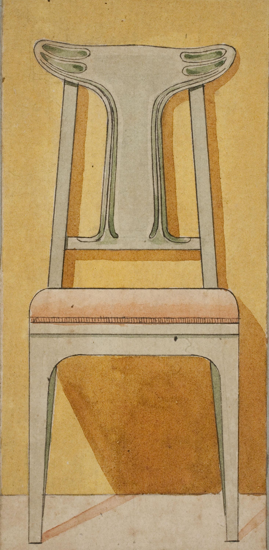 Gaspar Homar - Cadira - Cap a 1900-1910