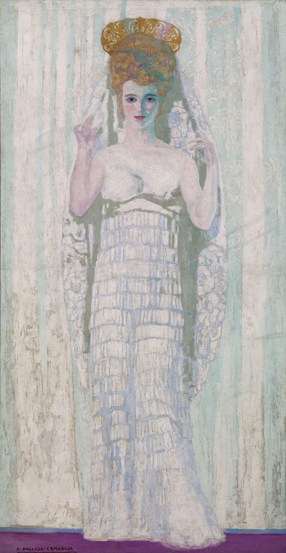 Hermen Anglada Camarasa - Retrat de Magda Jocelyn - Cap a 1904