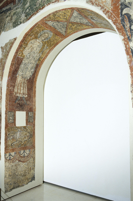 Tercer Mestre de Sorpe - Sant Pastor i el símbol zodiacal de Càncer de Sorpe - Mitjan segle XII